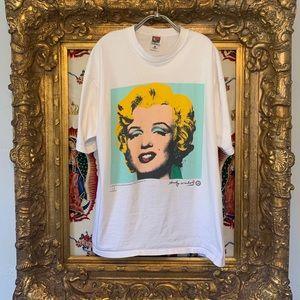 Vintage Andy Warhol Marilyn Monroe shirt